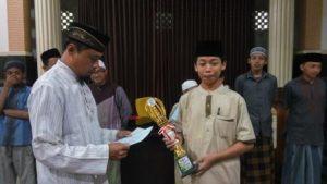Muhammad Daffa, Juara I Pidato Bahasa Arab Tingkat SMP