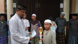 Muhammad Nadvi Hauza At Taftazani, Juara II Pidato Bahasa Indonesia Tingkat SMP