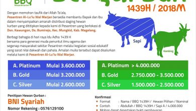 Photo of Bahagia Ber-Qurban (BBQ) 1439 H