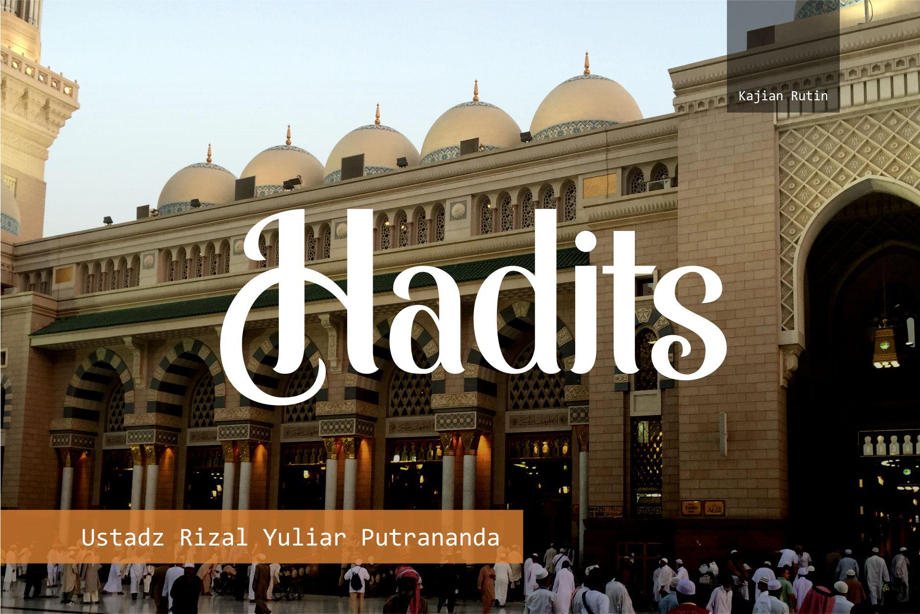 Menyambut Kemuliaan Ramadhan – Ust Rizal Yuliar Putrananda