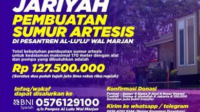Photo of [Donasi DITUTUP] Amal Jariyah Di Pembuatan Sumur Artesis