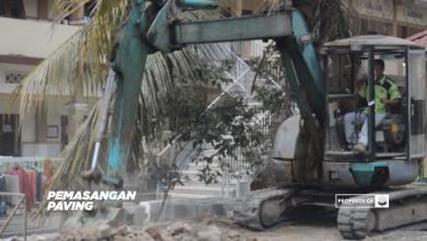 Photo of Video Proses Pemasangan Paving Blok dan Pembangunan Tower Air (Update 26 Oktober 2018)