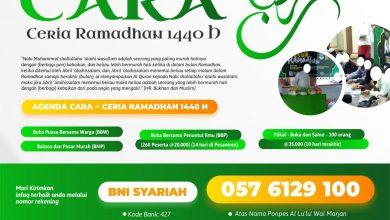 Photo of Proposal CARA (Ceria Ramadhan) 1440 H