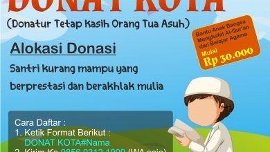 Photo of Program DONAT KOTA (Donatur Tetap Kasih Orang Tua Asuh)